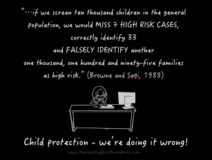 Child Protection (we're doing it wrong!)